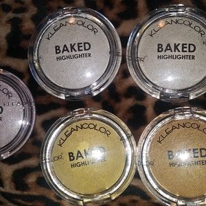 Kleancolor Baked Highlighters
